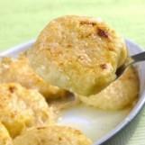Gnocchis de pommes de terre au parmesan en gratin