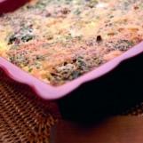 Gratin d'épinards et de quinoa