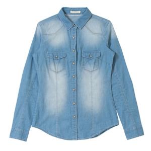 chemise jean femme gemo printemps t 2014 diaporama mode doctissimo. Black Bedroom Furniture Sets. Home Design Ideas