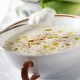 Soupe de poireaux à la muscade