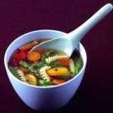 Soupe de légumes et pâtes