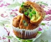Muffins aux Petits Pois