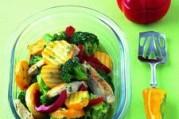 Légumes vapeur et poulet