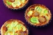 Tartelettes poireaux et saint-jacques