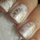 nail-art-flocons-or