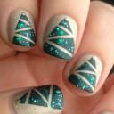 nail-art-sapins-noel-mats