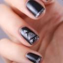 nail-art-sapin-glitter