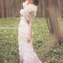 Robe-de-mariée-romantique-rose-poudré