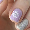 nail-art-flocons-violet