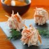 Boulettes de surimi au chèvre frais