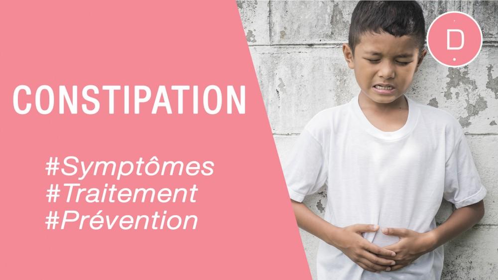 Constipation de l'enfant – Quel traitement pour un enfant