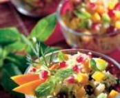 Graines de couscous aux fruits