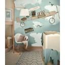 chambre de bébé dessin sur le mur