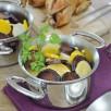 Cocotte de légumes anciens glacés au miel et cailles rôties