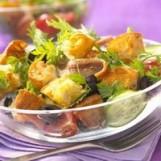Salade de pain comme en méditerranée