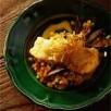 Dos de cabillaud de norvège (skrei)  au jus de moules safrané et salsifis frits