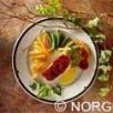 Meunière de dos de cabillaud de norvège (skrei) à la fondue de chicons au miel et sa fricassée de langues