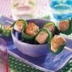 Brochettes de dinde marinées et pois gourmands