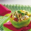 Salade de dinde et pâtes 3 couleurs
