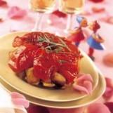 Tatin de dinde aux tomates confites