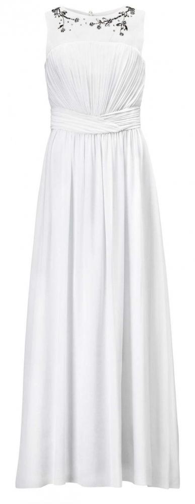 Robe de mariée pas chère H&M : robe de mariée longue blanche pas ...