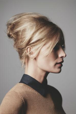 Coiffure soir e le chignon coiff d coiff diaporama beaut doctissimo - Chignon coiffe decoiffe mariage ...