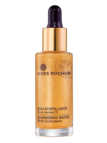 maquillage paillettes eau scintillante dyves rocher diaporama beaut doctissimo - Prix Maquillage Mariage Yves Rocher