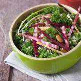Salade de chou kale aux graines