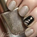 nail art avec paillettes