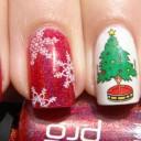 nail art special noel