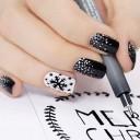 nail art flocon
