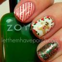 idée nail art pour noel