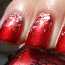nails art rouge