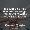 citation amitié de Alphonse de Lamartine