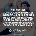 citation amitié Saint-Augustin