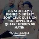 citation amitié Marlène Dietrich