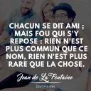 citation amitié Jean de la Fontaine