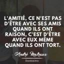 citation amitié André Malraux