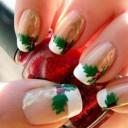 photo nail art noel