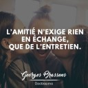 citation amitié Georges Brassens