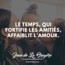 citation sur l'amitié de Jean de la Bruyère