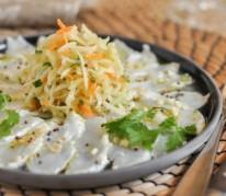 salade-de-papaye-verte-et-poisson-cru-marine