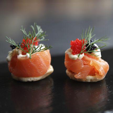 Comment choisir son saumon fum diaporama nutrition for Canape saumon