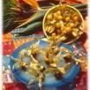 Friandise de physalis au chocolat