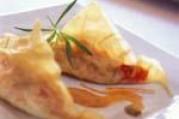 Ravioles de surimi aux tomates confites