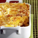 Gratin de macaronis à l'emmental