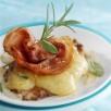Piccatas de veau à l'emmental, pancetta et sauge