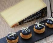 Petits choux d'Appenzeller et huile de truffe