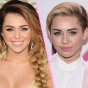Miley Cyrus cheveux courts