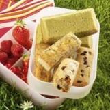 Mini cakes aux pruneaux/pavots-gingembre/thé matcha